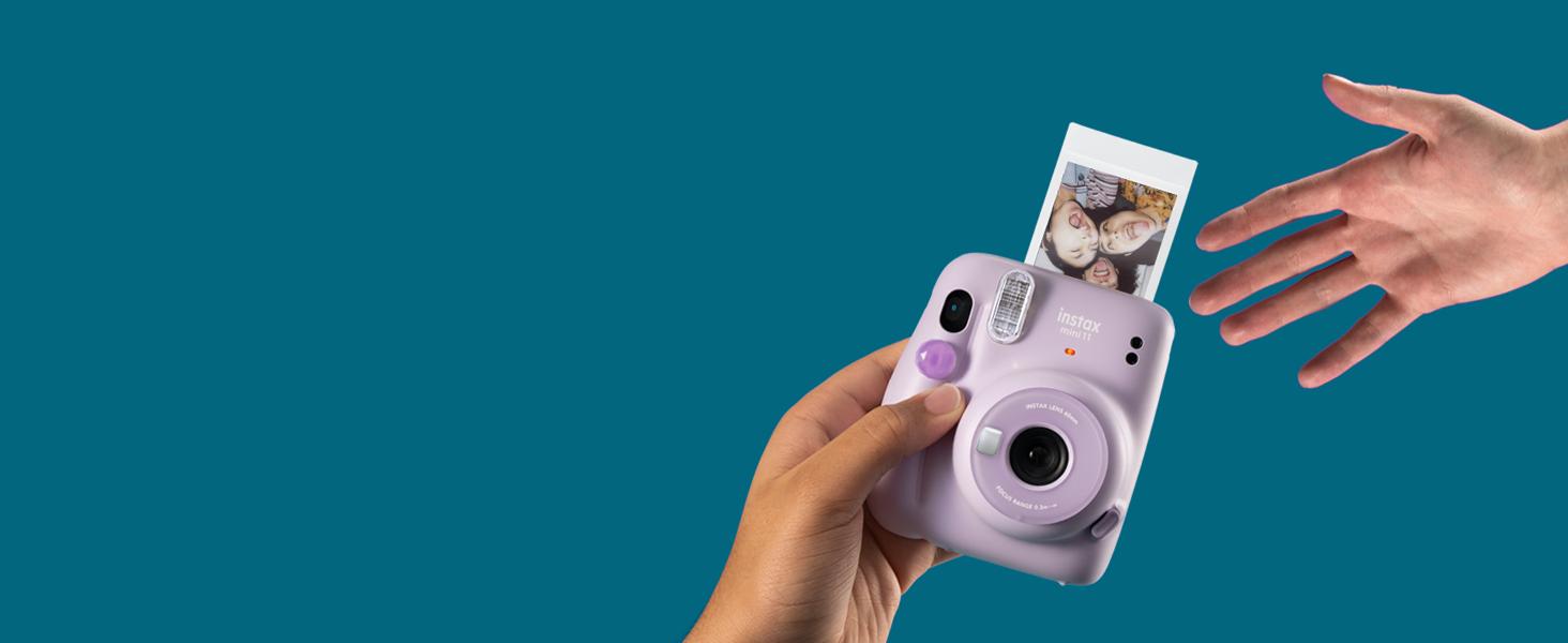 purple instax mini 11