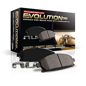 brake pads, powerstop, ceramic brake pads, brake pad sets, low dust brake pads, z17