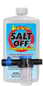 Salt Away, SA32M, Concentrate Kit, with Mixing Unit, Salt Removing Cleanser,Star brite,salt off