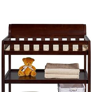 delta children bentley changing table safe baby nursery furniture dressing