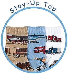 Jefferies socks, boys, fun, pattern, crew, socks