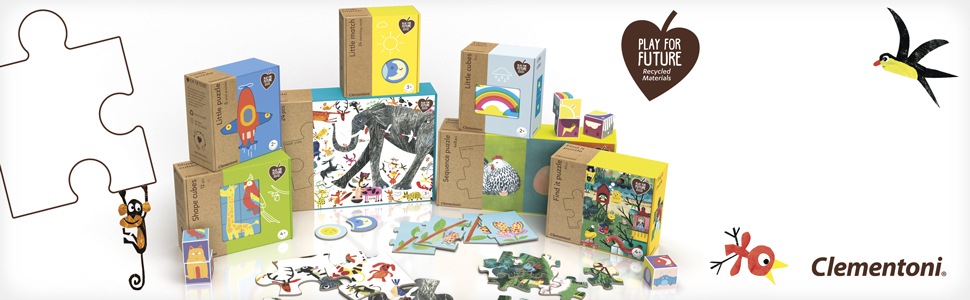 Clementoni Cuanti piezas Little Cubes línea de juegos