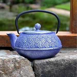 Primula Blue Floral Teapot