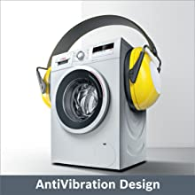 bosch original washing machine with dryer for new shine easy washing anti-vibration design low noise