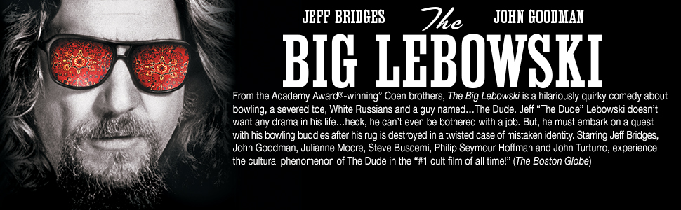 the big lebowski, jeff bridges, john goodman, the dude, gift set, gift box, collector's edition, 4K