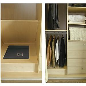 caja fuerte camuflada armario secreta oculta