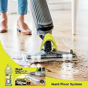 Powerful spray mopping