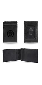 wallet,mens wallet,wallet for women,wallet for men,leather wallet,NHL,Bruins,Boston Bruins