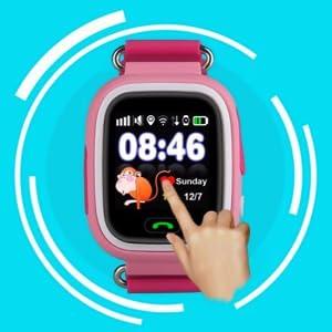 Leotec Smartwatch Unisex Niños de Digital con Correa en ...