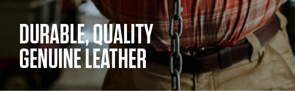 mens leather belts buckle work casual genuine brown black full grain for men ratchet heavy duty