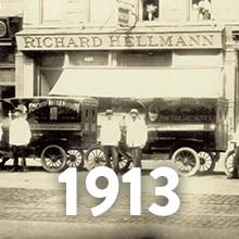 Hellmann's Timeline - 1913
