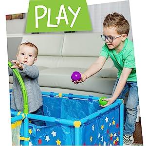Play: ball pit, balls, NSG, play, gym