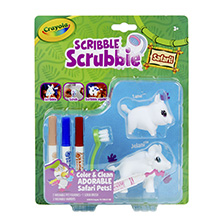 Crayola, Scribbie, Scrub, Safari, Animals, Fun, Toy, Color, Draw, Wash, Pattern, Play, Jungle,