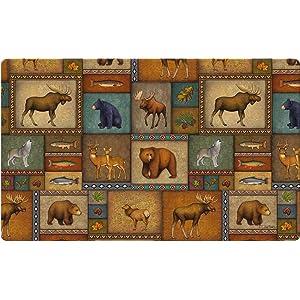 wildlife;animal;dear;doe;buck;bear;grizzly;fish;salmon;bass;trout;moose;acorn;leaf;leaves