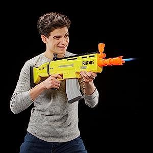 fortnite; nerf fortnite gun; nerf elite gun; assault rifle; legendary; battle royale; darts; bullets