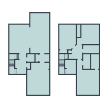 Neato multiple floor plans for 2 and 3 story homes