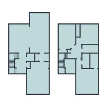 Neato, 2 ve 3 katlı evler için çok katlı kat planları