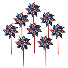 stars & stripes pinwheel