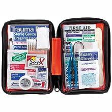 Renewed Ready America 70385 Deluxe Emergency Kit 4 Person Backpack