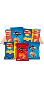 Crisp and snacks box