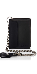 levis mens chain wallet
