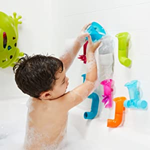 Boon Tubes Builder Bath Toys Set