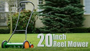 The classic Scotts Push Reel Mower
