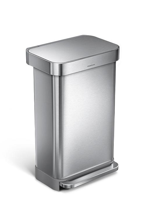 55L step trash can