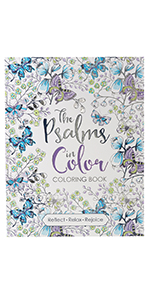The Psalms in Color Coloring Book