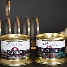 KATEALDE mousse de magret de pato al armagnac tarro 130 gr: Amazon.es: Alimentación y bebidas