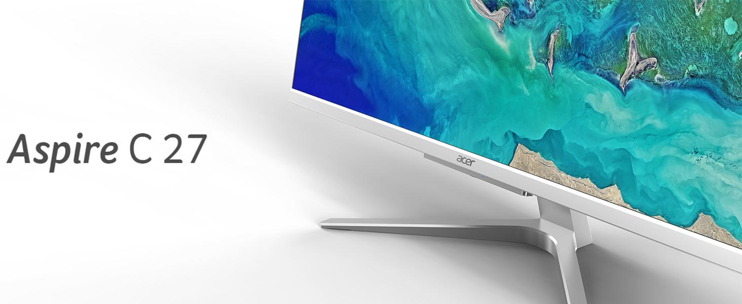 Acer Aspire C27-962-UR11 10th Gen Intel i5-1035G1 NVIDIA MX130 27 Full HD AIO Desktop Amazon Choice