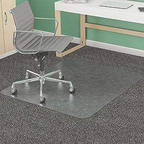Office floor mats Waterproof Office Chair Mat Office Mat Office Floor Mats Office Chair Mats Office Amazoncom Amazoncom Deflecto Supermat Clear Chair Mat Medium Pile Carpet