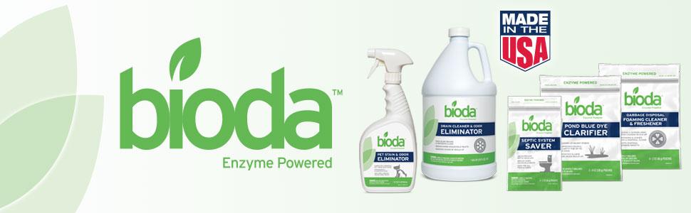 Bioda, Enzyme, Powered