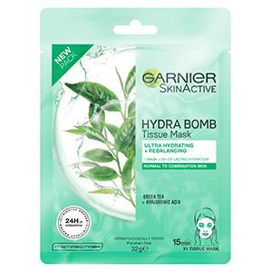 Garnier Hydra Bomb Tissue Mask Green Tea