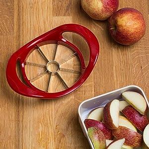LEVIVO Descorazonador de Manzanas, Rojo, 18.5x13x4.5 cm