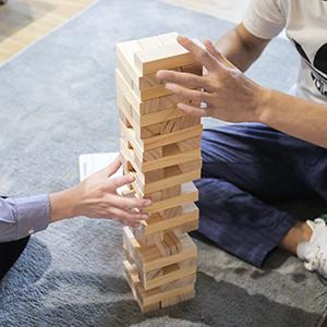 Wooden Stacking Yard Game