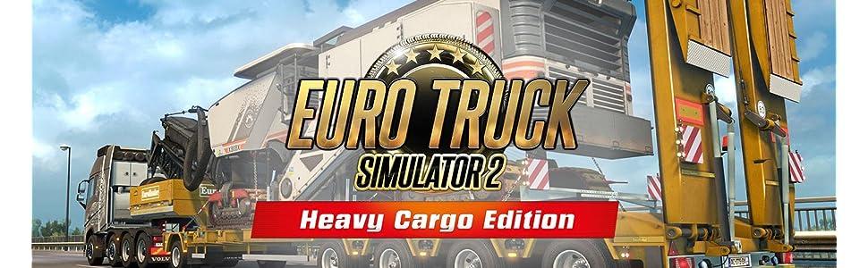 euro truck simulator 2 heavy cargo edition pc. Black Bedroom Furniture Sets. Home Design Ideas