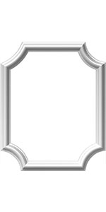 "Amazon.com: Ekena Millwork PML05X26ST Stockport Premoulded Panel Moulding  Frames, 4 5/8""W x 26""H, Primed: Home Improvement"