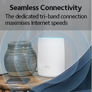 NETGEAR RBK53 Orbi Whole Home Mesh Wi-Fi System - Finally