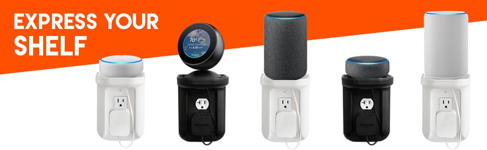 sonos shelf echo shelf echo dot shelf phone shelf ipad shelf power perch charging shelf amazon