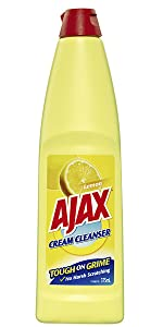 Ajax Cream Cleanser Lemon