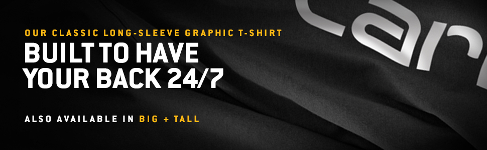 Details about  /Carhartt Men/'s Big and Tall Signature Logo Short Sleeve Midweight