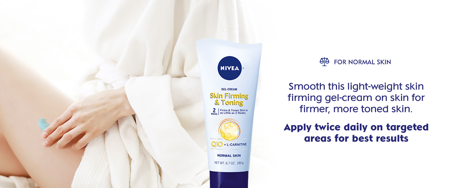 gel cream, lotion, body moisturizer, skin firming, skin toning, for normal skin