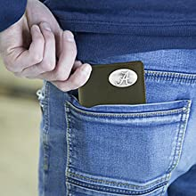 Men's Zeppro leather roper concho wallet