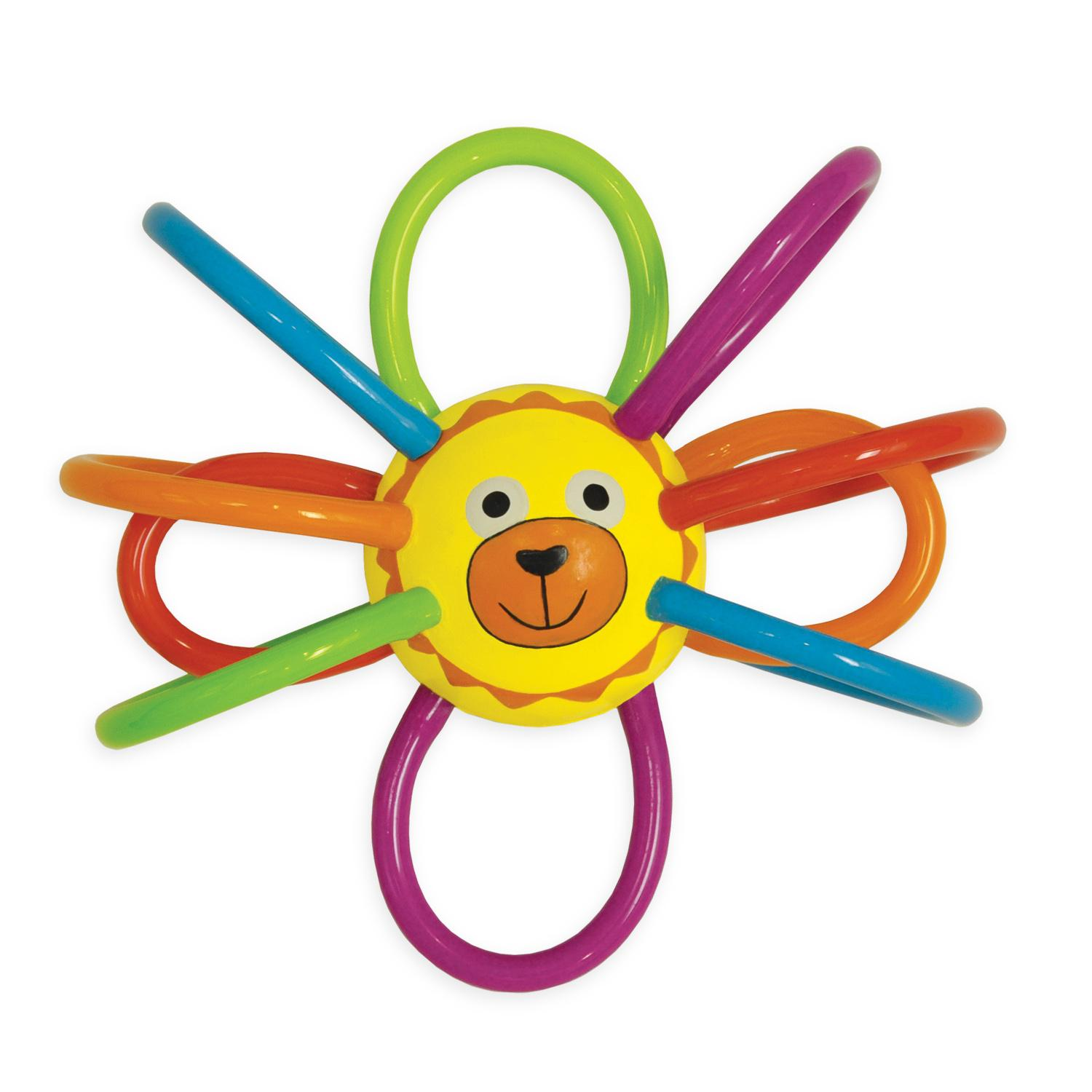 Amazon Manhattan Toy Zoo Winkel Lion Rattle and Sensory