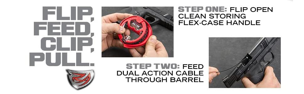 handle,cleaning,gun,firearm,bore,barrel,field,compact,revolver,MSR,AK,gun cleaning kit,clp,oil