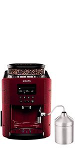 Krups Roma EA81R8 Cafetera súper-automática, 15 bares de presión ...