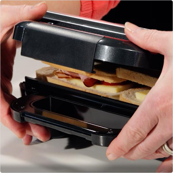 Breville Deep Fill Sandwich Toaster And Toastie Maker With