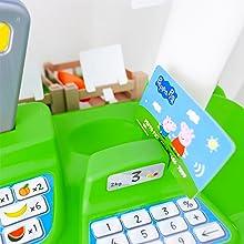Caja registradora de Peppa Pig con 22 accesorios (Smoby 1230P ...