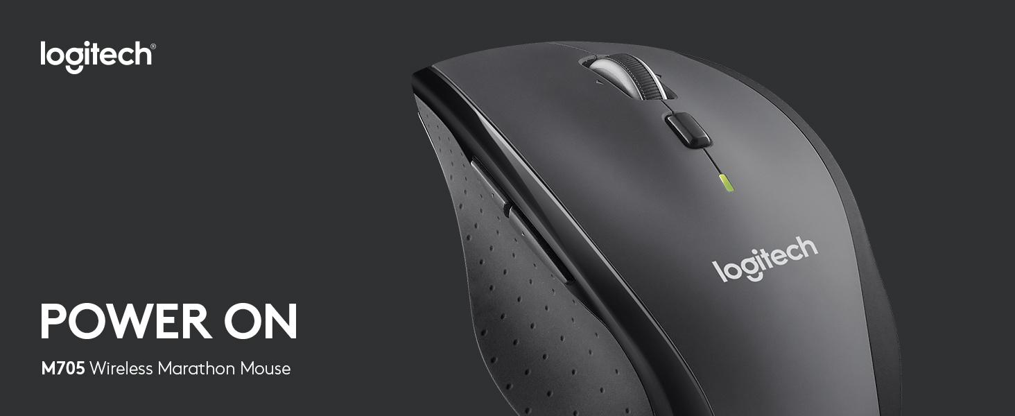 M705 Wireless Marathon Mouse